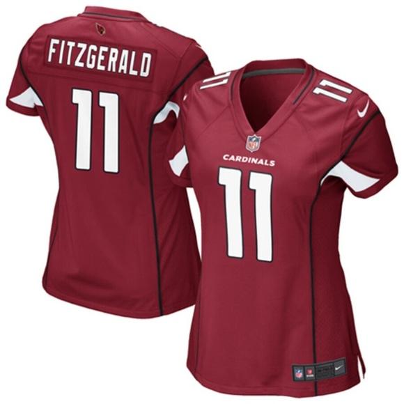 purchase cheap f4fda bbb71 Women's Arizona Cardinals Larry Fitzgerald Jersey NWT